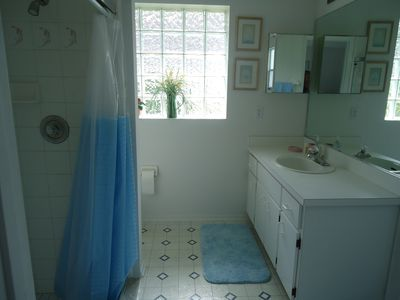 ensuite master shower and toilet
