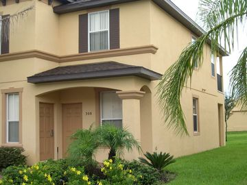 Regal Palms townhome rental - Front of our end unit 4BR, 3.5 BA Townhouse
