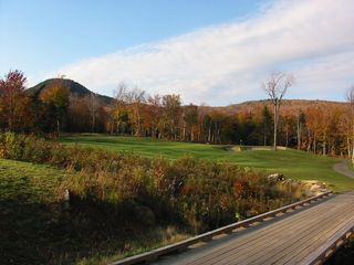Jay Peak house photo - Golf course in the fall