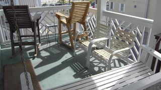 Tybee Island condo photo - Balcony