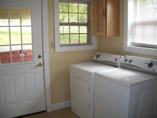 Harpers Ferry house photo - full laundry room with washer and dryer