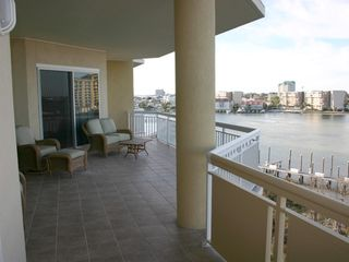 Harbor Landing Destin condo photo - Harbor Landing 203A - Large Balcony