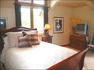 Sun Valley house photo - Private Balcony, En-Suite Bath, and Queen Bed in the Third Bedroom
