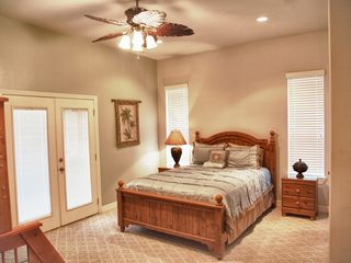South Padre Island condo photo - Master Bedroom sleeps 5 Persons and has large balcony with View of Gulf and Bay