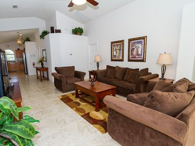 Indian Creek villa rental - Living area
