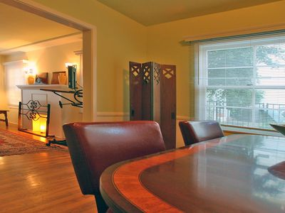Across Formal Dining Room to Living Area