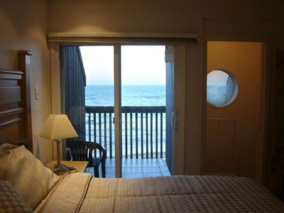 MASTER WITH OCEAN VIEW with plush Pillowtop King Bed