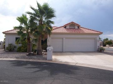 Sun Lakes house rental - Northern exposure of the home front.