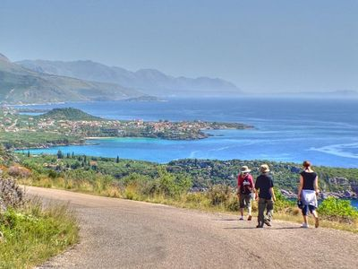 Walking from Kardamili to Stoupa