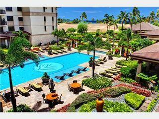 Kapolei villa photo - View of Lap Pool, Gardens & Ocean