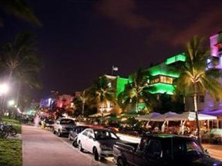 South Beach condo photo - Ocean Dr at night