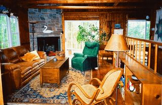 Harpers Ferry cabin photo - living room