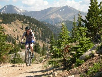 Breckenridge condo rental - Great mountain biking (and hiking) right from the condo and locally.