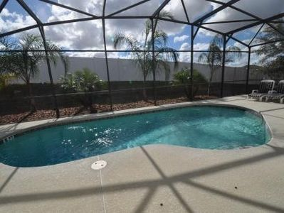 South Facing Heated Pool with Screened Enclosure
