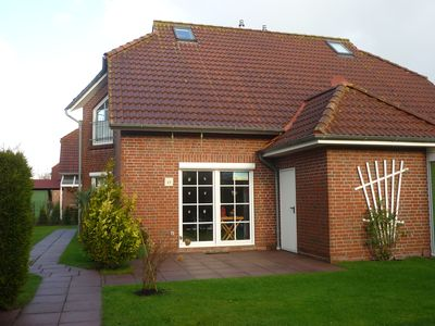 High quality holiday home in Nessmersiel for 4 people and a small child