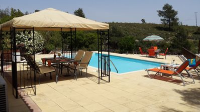 Beautifully Situated Detached Villa with Private Pool and terraced gardens.