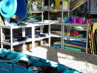 Anna Maria house photo - Your kayaks and beach toys for your use
