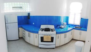 Playa del Carmen condo photo - Round kitchen