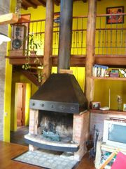 Punta del Este house photo - Fire Place in Living Room
