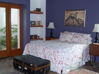 Kino Bay villa photo - Patio bedroom.