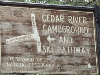 Cedar River cottage photo - .
