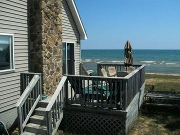 Relax on the Deck and Watch the Waves!