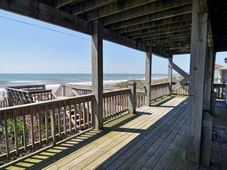 Surf City house photo - Covered Deck