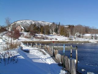 Camden apartment photo - Harbor and Mountain in Winter area ski trails give views of the Atlantic ocean.
