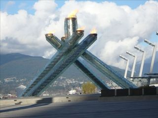 North Vancouver house photo - Vancouver 2010 Olympic Torch