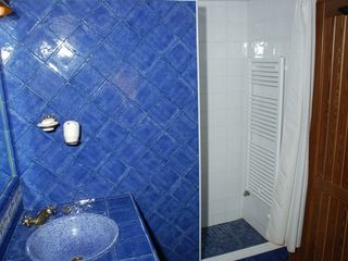 Genalguacil villa photo - The blue bathroom