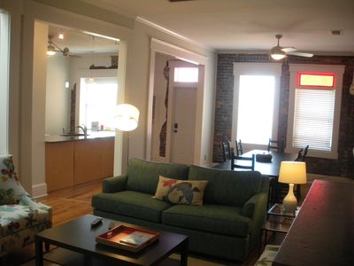 Relaxed,Open Urban Living in Historic Strauss Building