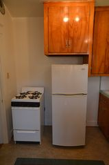 Long Beach bungalow photo - Appliances include Refrigerator, Stove, Microwave, Disposer, Coffeepot, Toaster