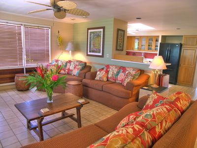 Living room with lots of comfortable seating