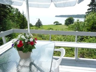 West Tremont cottage photo - Enjoy Your Meals with a Spectacular View!