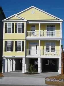 Front - LIKE A DREAM, 614A N. Ocean Blvd.,Surfside Beach, SC,  HOUSE RENTAL
