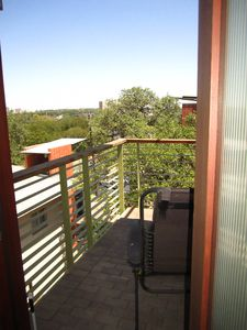 Austin house rental - Balcony #2 of 2 attached to master suite: overlooking the city