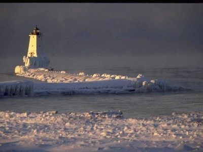 Ludington condo rental - Winter Sports... or a quiet romantic weekend?