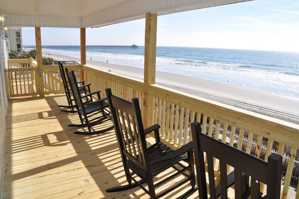 Oceanfront Pet Friendly House Cherry Grove Vrbo
