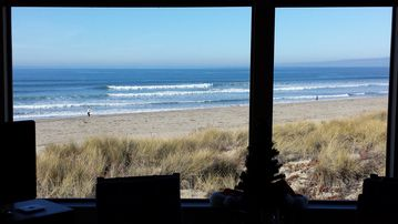 Pajaro Dunes condo rental - Another view from our window. Christmas time, the beach was empty but gorgeous.