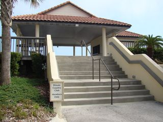 Ponte Vedra Beach condo photo - Pavillion leading to the private beach