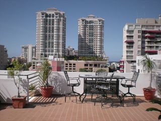 Condado condo photo - Front view from the terrace