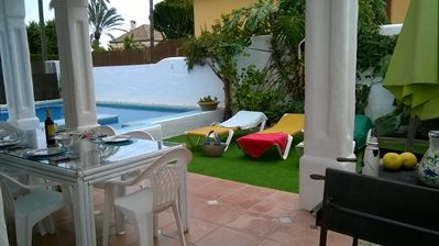 Beautiful Andalucian Villa with private pool and golf courses nearby