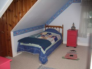 East Machias house photo - Lighthouse Bedroom - 1 Twin