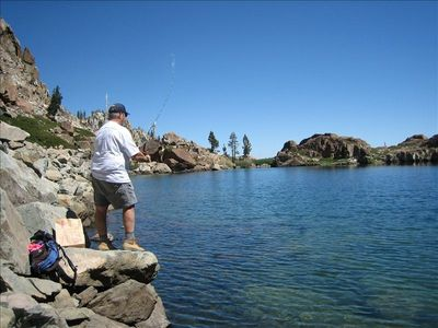 Trout Fishing - The Best Places To Fish in the High Sierra For A California Golden Icon