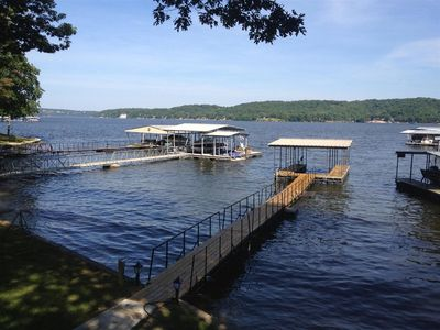 Your own covered boat dock