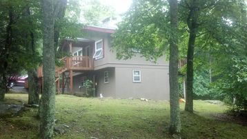 Beech Mountain house rental - double decker!