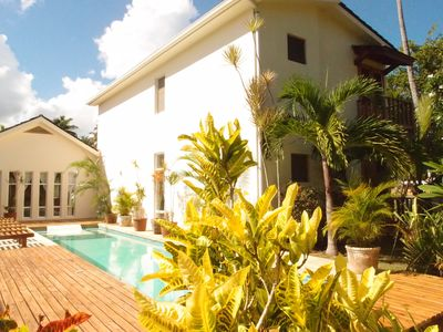 image for VILLA CELINE- Walk for miles along the beautiful beach  - Private pool
