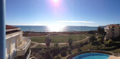 Juan-les-Pins apartment rental - Beautiful Panoramic View from Balcony