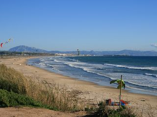 Cortes de la Frontera villa photo - The unspoilt white beaches of the Costa de la Luz.