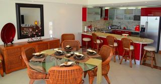 Puerto Vallarta condo photo - Dining table for 4 (can seat a max of 6)